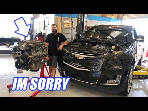 I Modded My WIFES Escalade! It BLEW UP   Heres What Happened