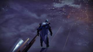 I dance on the edge of The Tower (The Hub) in Destiny!!!!!!!