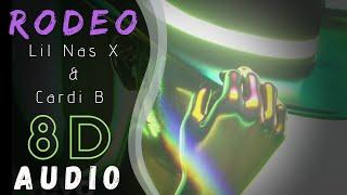 Lil Nas X,  Cardi B    Rodeo (8D Audio)