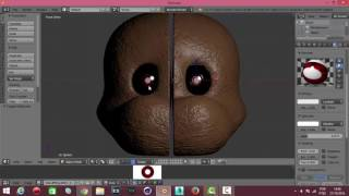 The Making Of Nightmare Freddy On Blender 3D / Especial 100