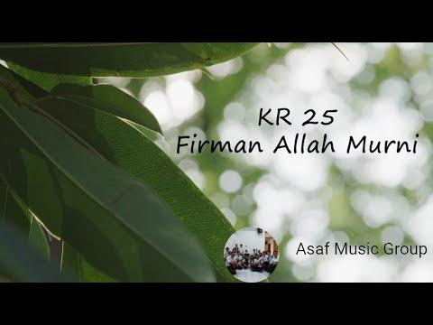Firman Allah Murni (keroncong version) - Asaf