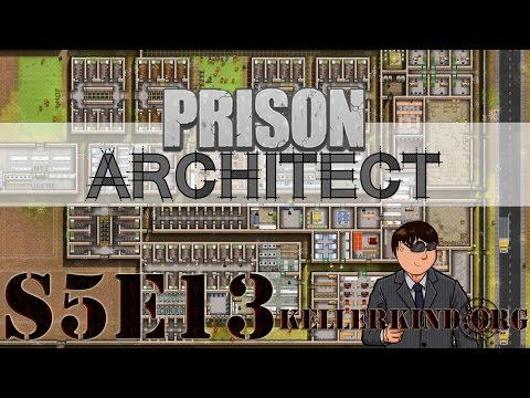 Prison Architect [HD|60FPS] S05E13 – 3D-Brillen nicht vergessen ★ Let's Play Prison Architect