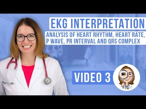 EKG Interpretation - Analysis of Heart Rhythm, Heart Rate, P wave ...