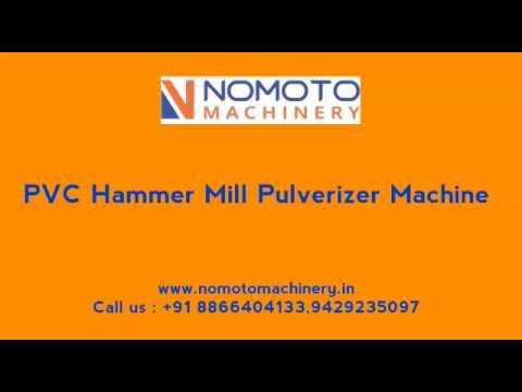 Hammer Mill PVC Pulverizer Machine