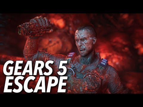 Gears 5's New Mode Is A Three-Player Escape Mission From The Heart Of Locust Territory