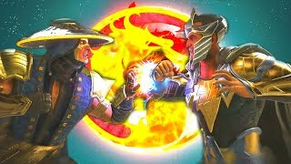 Injustice 2 - Raiden Vs Black Adam All Intro Dialogue/All Clash Quotes, Super Moves