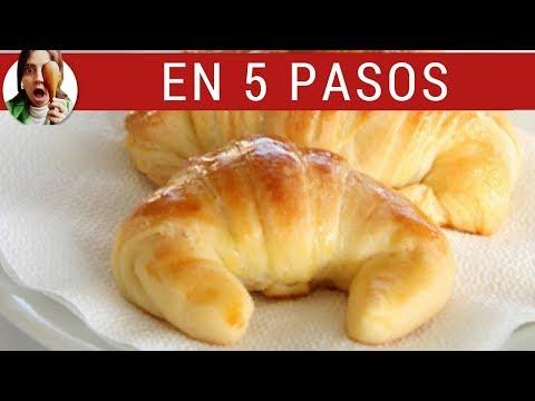 MEDIALUNAS DE MANTECA CASERAS (Cómo hacer croissants)
