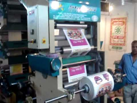 Flexographic Printing Machine - 6 Colors