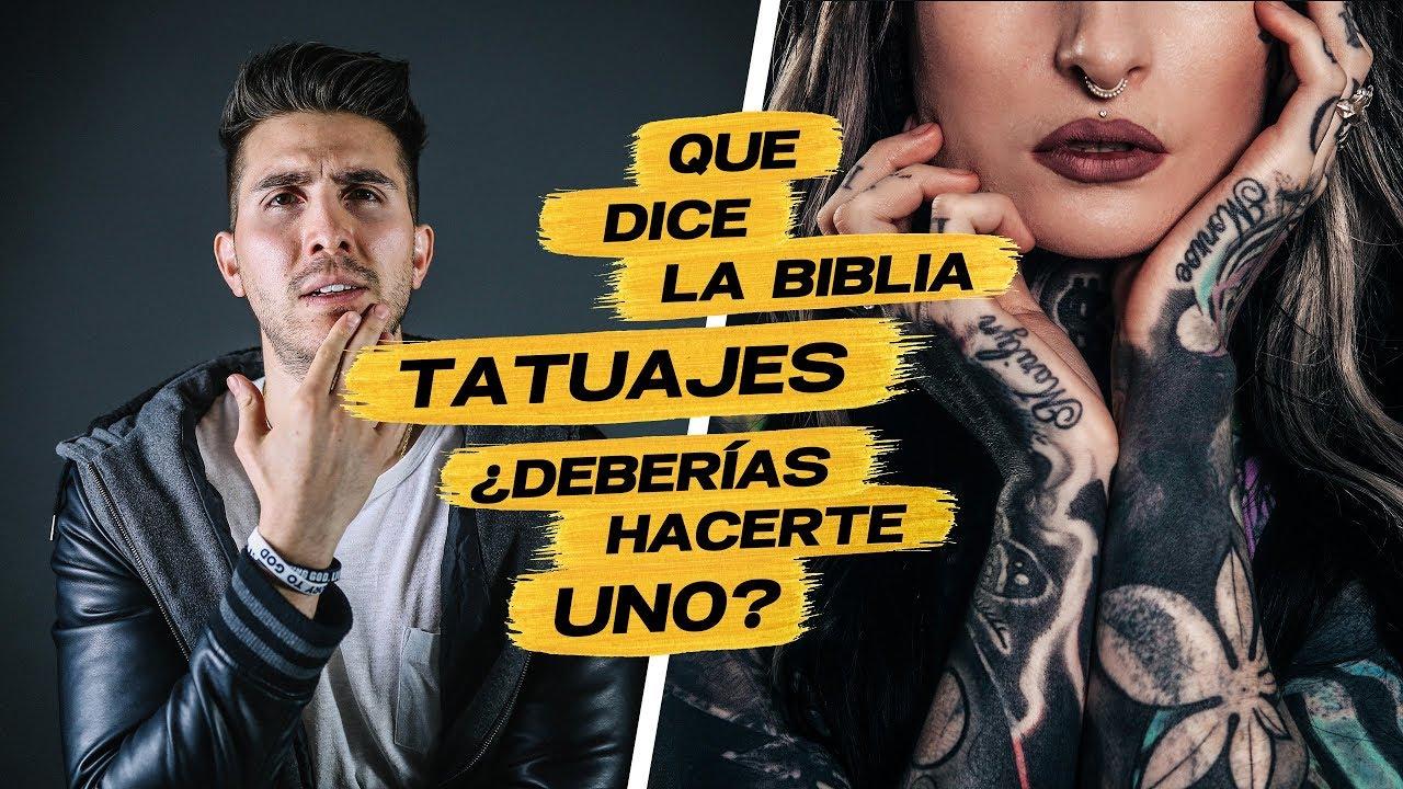 Qué Dice la Biblia Sobre: Tatuajes.