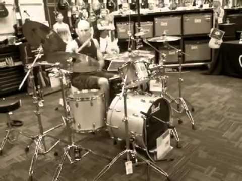 Zack R. Sewell - Sicmonic drum solo #1