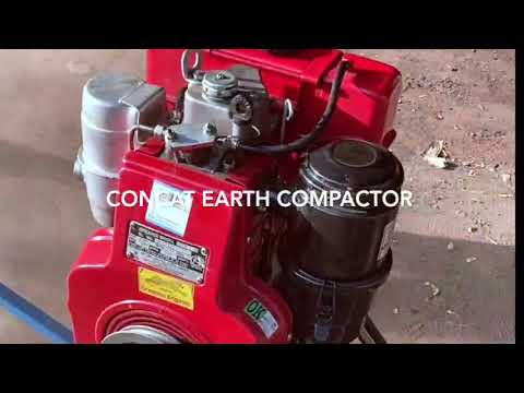 Plate Compactor Greaves Engine