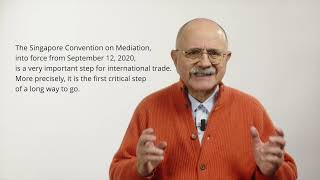 Anteprima video Singapore Convention on Mediation 2020