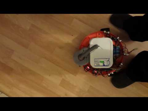 roomba casero arduino