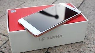 Uhans S1 неожиданно качественный и стильный смартфон.