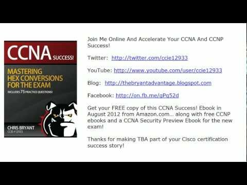 CCNP TSHOOT And SWITCH Video Practice Exam: HSRP, Hex ...
