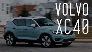 Смотреть онлайн Обзор на автомобиль Volvo XC40 2018 год