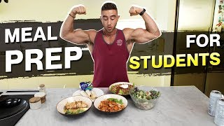 Meal Prep for Students | Muscle Gain AND Fat Loss Meals