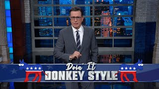 """Only 8 candidates have qualified for the next Democratic Presidential debate so far, which means Michael Bennet, Andrew Yang and others from the crowded field must do everything they can to break through before the deadline. #LSSC #Monologue #Colbert  Subscribe To """"The Late Show"""" Channel HERE: http://bit.ly/ColbertYouTube For more content from """"The Late Show with Stephen Colbert"""", click HERE: http://bit.ly/1AKISnR Watch full episodes of """"The Late Show"""" HERE: http://bit.ly/1Puei40 Like """"The Late Show"""" on Facebook HERE: http://on.fb.me/1df139Y Follow """"The Late Show"""" on Twitter HERE: http://bit.ly/1dMzZzG Follow """"The Late Show"""" on Google+ HERE: http://bit.ly/1JlGgzw Follow """"The Late Show"""" on Instagram HERE: http://bit.ly/29wfREj Follow """"The Late Show"""" on Tumblr HERE: http://bit.ly/29DVvtR  Watch The Late Show with Stephen Colbert weeknights at 11:35 PM ET/10:35 PM CT. Only on CBS.  Get the CBS app for iPhone & iPad! Click HERE: http://bit.ly/12rLxge  Get new episodes of shows you love across devices the next day, stream live TV, and watch full seasons of CBS fan favorites anytime, anywhere with CBS All Access. Try it free! http://bit.ly/1OQA29B  --- The Late Show with Stephen Colbert is the premier late night talk show on CBS, airing at 11:35pm EST, streaming online via CBS All Access, and delivered to the International Space Station on a USB drive taped to a weather balloon. Every night, viewers can expect: Comedy, humor, funny moments, witty interviews, celebrities, famous people, movie stars, bits, humorous celebrities doing bits, funny celebs, big group photos of every star from Hollywood, even the reclusive ones, plus also jokes."""