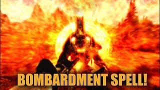 Skyrim SE - Amazing Bombardment spell (Apocalypse mod)