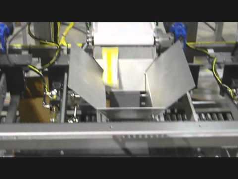 Formadora de Cajas 2EZ SB Integrada con Empacadora de 3 Carriles