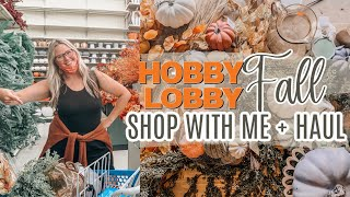 FALL SHOP WITH ME AND DECOR HAUL | HOBBY LOBBY FALL DECOR 2020