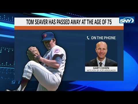 Gary Cohen and Howie Rose's powerful responses to the passing of Tom Seaver | New York Mets | SNY