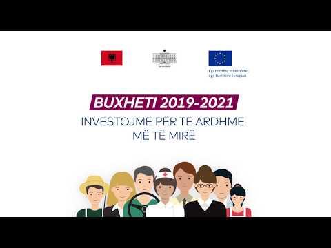 Buxheti 2019-2021 - Investojmë në një të ardhme më të mirë