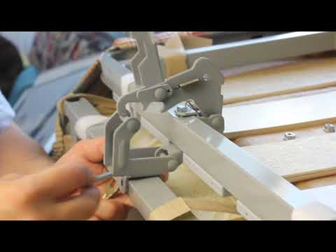 Ремонт механизма дивана аккордеон на дому своими руками (замена замка АТС).