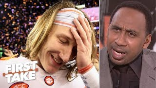 Clemson's blowout of Alabama saved college football - Stephen A. | First Take