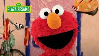 Sésamo: ¡El casco y la bicicleta visitan a Elmo!