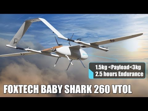 VTOL for Mapping and Inspection with 2200mm Wingspan Modular Deltawing SABER 220