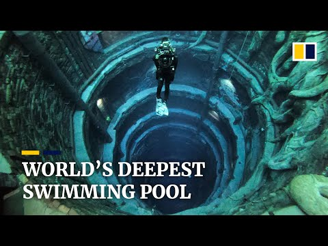 Swimming in the Deepest Pool in the World
