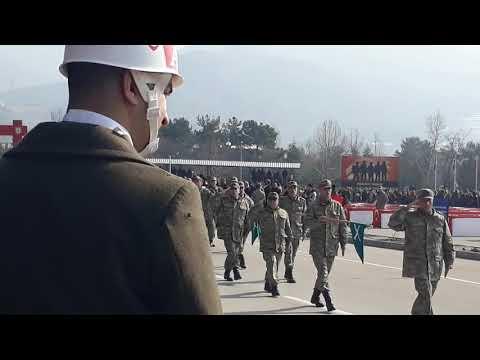Amasya 1999-1 Devre ve 374 K.D Askerlerin Yemin Töreni -15 Piyade Eğitim Tugayı -22.02.2019 -Part 3