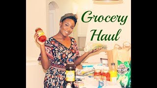Healthy Grocery Haul | UnearthedAmber