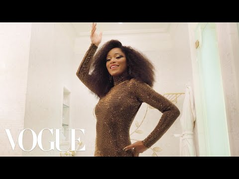 , title : 'Keke Palmer Gets Ready for the Met Gala | Vogue'