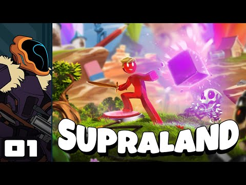 Let's Play Supraland - PC Gameplay Part 1 - So Many Secrets, So Little Time!