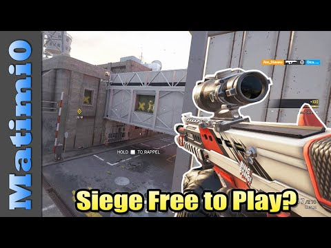 Siege Might Become Free to Play? - Rainbow Six Siege