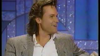 Sylvester Stallone & Kurt Russell @ The Arsenio Hall Show