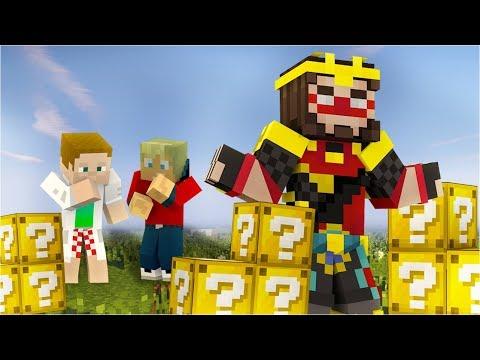 Učím Alkana minecraft #7 [Lucky Bloky]
