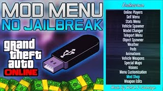 GTA 5 Online - Install USB Mod Menu Tutorial! PS3 OFW (NO JAILBREAK) GTA V Online 1.26/1.27 NEW 2016