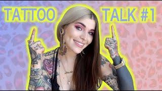 Tattoo Talk #1 - Hand, Finger & Gesichts Tattoos, Tattoo Pflege, Betäubungscreme | Sinah Webster