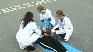 Emergency Training in Donetsk National Medical University