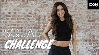 Workout: Squat Challenge | Danielle Peazer by ICON UK