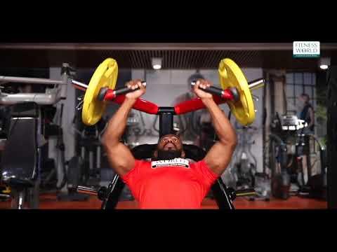 Fitness World Chest Incline Press Machine