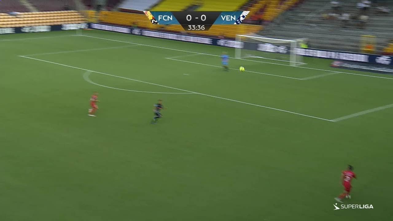 HIGHLIGHTS: FC Nordsjælland - Vendsyssel FF (29-7-2018)
