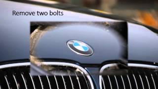 BMW E60 starter motor remove
