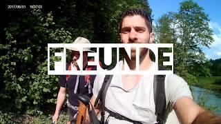 Zanshin Erlangen auf dem Megamarsch von München nach Mittenwald