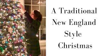 A Traditional And Classic Christmas Home Tour, Historic Home Tour, New England,  Linda Smith Davis