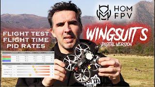 HOM FPV WINGSUIT S Flight Test - E' IL MIGLIOR CINEWHOOP 2021? (SUB EN)