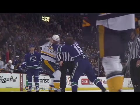 Cody Bass vs Derek Dorsett
